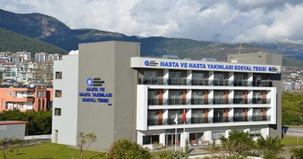 Alanya'da hasta yakınlarına otel konforunda konaklama hizmeti