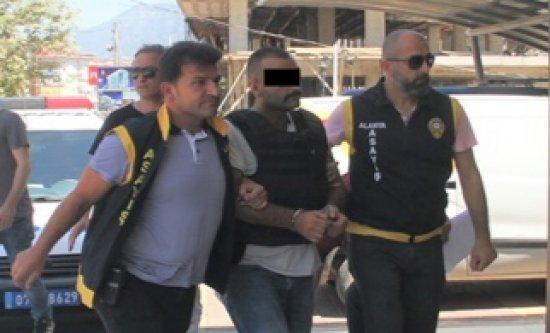 Alanya'da husumet cinayeti zanlısı tutuklandı