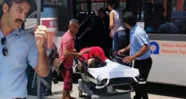 Alanya'da kahraman şoförden hayat kurtaran hareket!