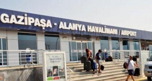 Alanya-GZP'ye 6 ayda 436 bin yolcu indi