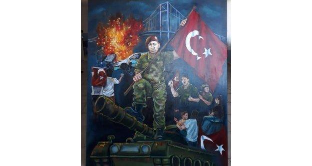 Alanyalı İrem'in bu resmi Türkiye ikincisi oldu