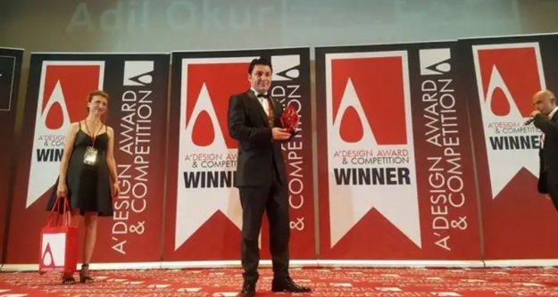 Alanyalı mimara İtalya'da 'En İyi Tasarım' ödülü