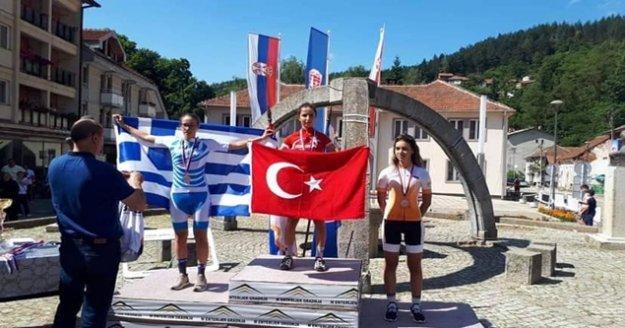 Alanya'nın sahip çıkmadığı sporcu Balkan Şampiyonu oldu