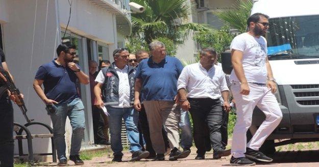 Antalya Şoförler ve Otomobilciler Odası'na yapılan operasyona 3 tutuklama