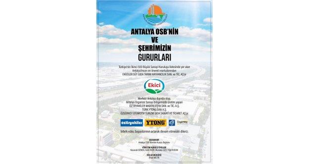 Antalya'yı temsil eden tek firma oldu