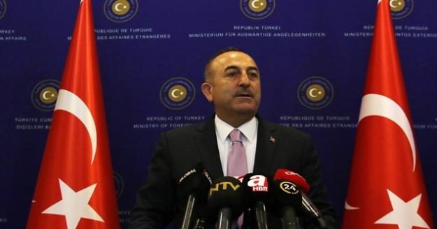 Bakan Çavuşoğlu: 'Türkiye Cumhuriyeti, Türkiye'nin ve Kıbrıs Türk halkının hakkını sonuna kadar koruma konusunda kararlıdır'