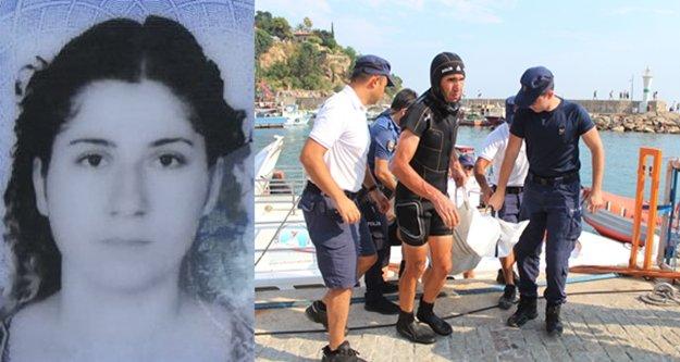 Deniz polisinin çabası genç kadını kurtarmaya yetmedi