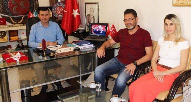 İşlek'ten Türkdoğan'a ziyaret