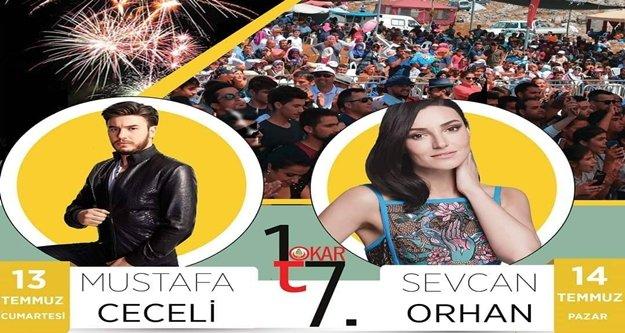 Tokar'da Mustafa Ceceli ve Sevcan Orhan heyecanı