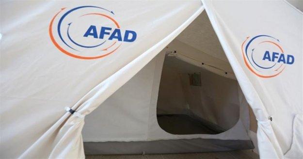 AFAD 500 Bin TL Acil Yardım Ödeneği tahsis etti