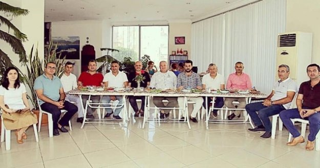 Ahmet Sünbül, ALTSO üyelerini ağırladı