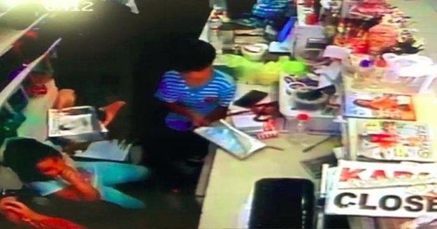 Alanya'da 6 yaşındaki çocuğa içinde 13 bin TL bulunan çantayı çaldırdı