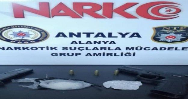 Alanya#039;da uyuşturucu baskını