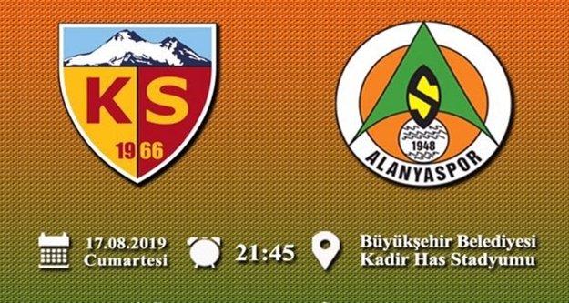 Alanyaspor, Kayseri'ye konuk oluyor