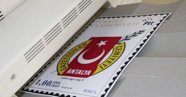Antalya Gazeteciler Cemiyeti pul nostaljisini yeniden canlandırdı