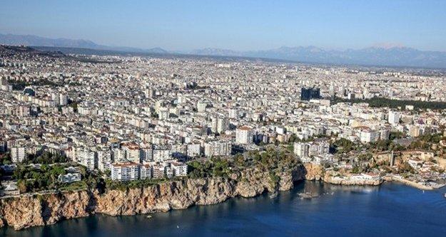 Antalya konut satışlarında 4'üncü sırada yer aldı