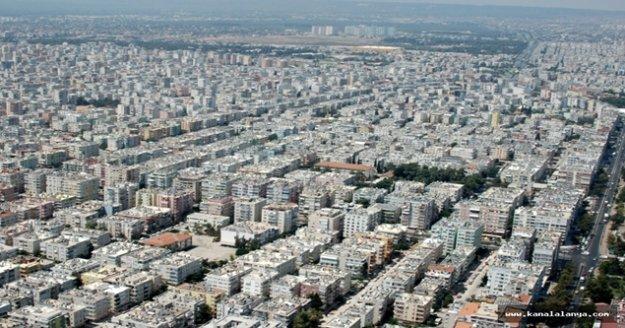 Antalya, Türkiye'de konut iştahı en yüksek 3 şehirden biri