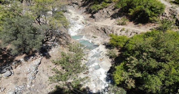 Antalya'nın ilk jeotermal su kaynağı Gazipaşa'da bulundu