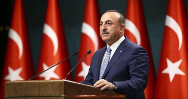 Bakan Çavuşoğlu: 'Amerika'nın oyalama taktiği burada geçerli olmayacaktır'