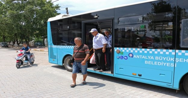 Büyükşehir 19 bin kişiyi yaylaya taşıdı