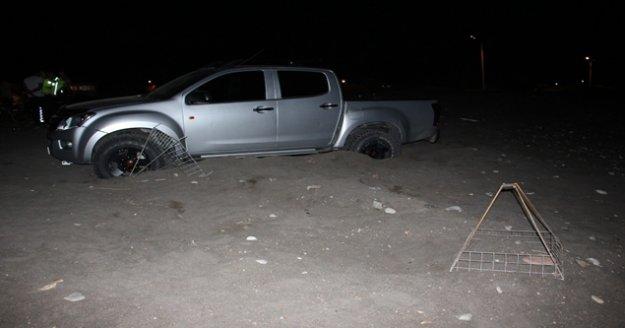 Caretta Caretta alanında drift atan sürücüye rekor ceza