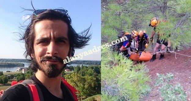 Kanyonda sele kapılıp ölen genç Alanyalı çıktı