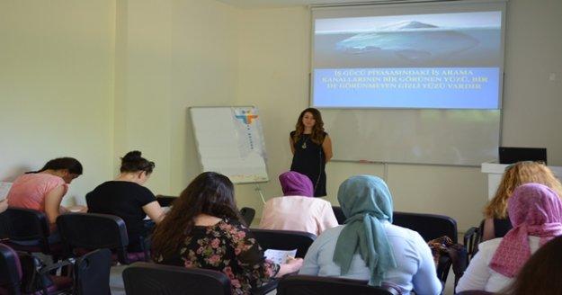 KİGGEM'den kadınlara iş eğitimi