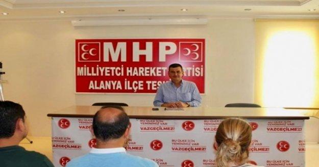 MHP toplantıda çalışmalarını değerlendirdi
