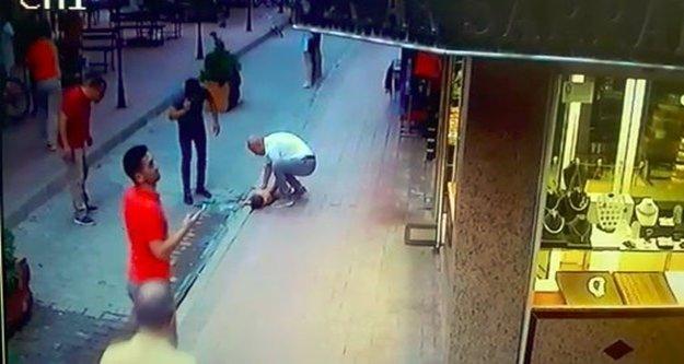 Minik Firas, 4. kattan beton zemine düştü