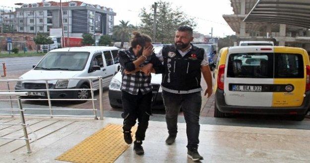 Sırt çantasına gizlediği uyuşturucuyla yakalanan şüpheli tutuklandı