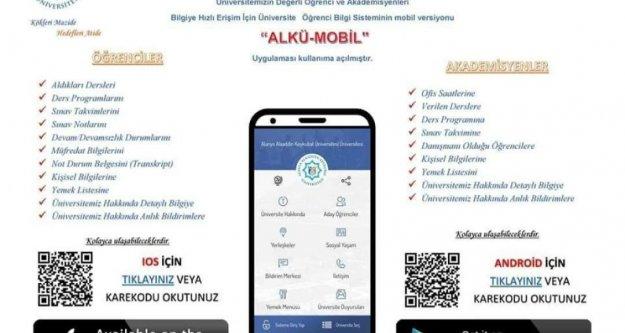 Alanya Alaaddin Keykubat Üniversitesi mobilde