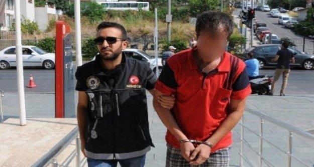 Alanya'da durdurulan şüpheli araçtan uyuşturucu çıktı