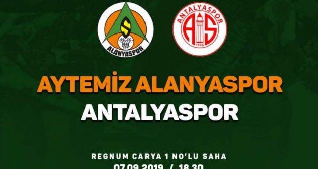 Alanyaspor, Antalyaspor'la karşılaşacak