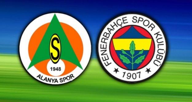 Alanyaspor Fenerbahçe maçının hakemi belli oldu
