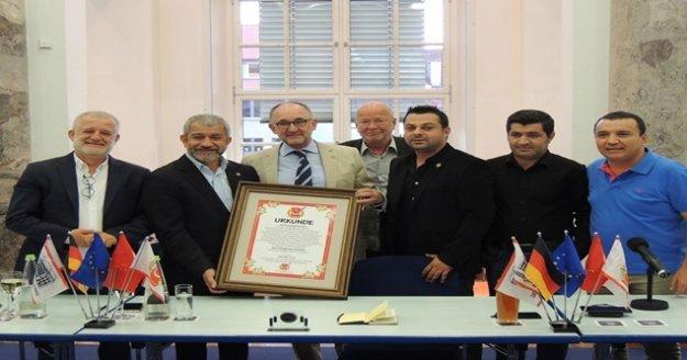 Antalya Gazeteciler Cemiyeti'nin Almanya temasları