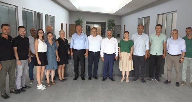 Bahşi'den AGC'ye medyanın sorunlarının çözümü için destek sözü