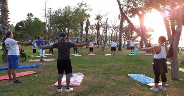Büyükşehirden 'Sabah Sporu' etkinliği