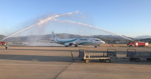 Gazipaşa Alanya Havalimanı'na ilk İran uçağı indi
