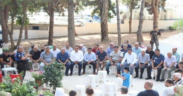 Şehit Halil Aksoy dualarla anıldı
