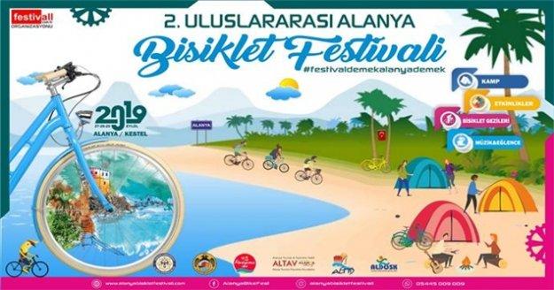 Uluslararası Alanya Bisiklet Festivali'nin hazırlıkları başladı