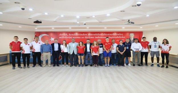 29.Alanya Triathlonu basın toplantısı yapıldı