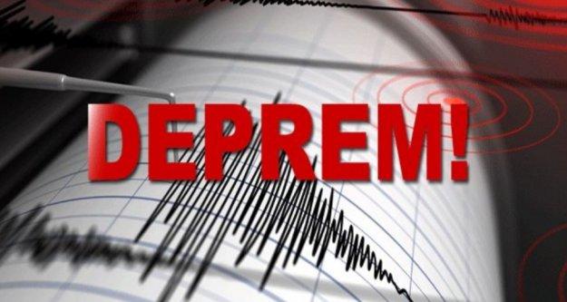Akdenizde 5.1 büyüklüğünde deprem