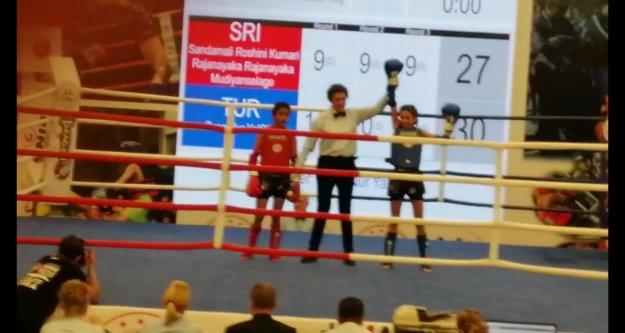 Alanya Belediyesporlu Busenur Dünya Şampiyonu oldu