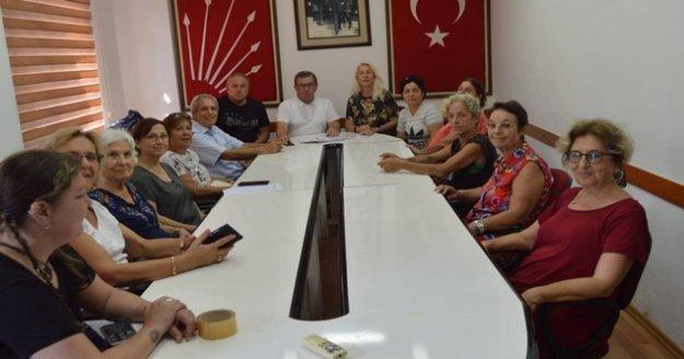 Alanya CHP, mahalle temsilcilikleri için çalışma başlattı