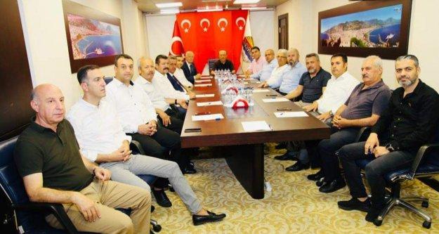 Alanya#039;dan Barış Pınarı Harekatı#039;na tam destek