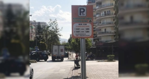 Alanya#039;nın o mahallesinde parkomat uygulaması başladı
