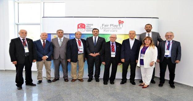 ALKÜ Fair Play Kervan üyelerini ağırladı