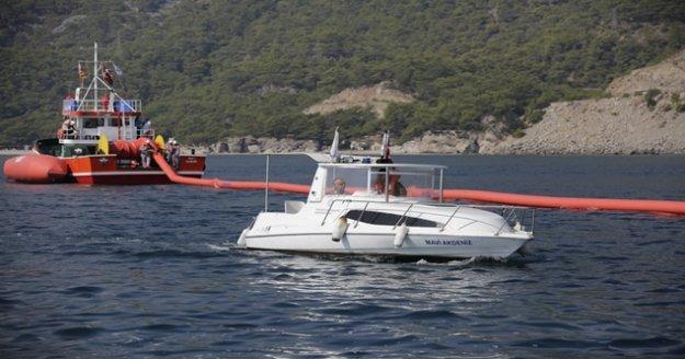 Deniz kirliliğine karşı acil müdahale tatbikatı yapıldı