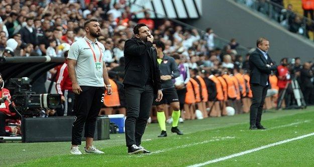 Erol Bulut'un Beşiktaş maçı yorumu