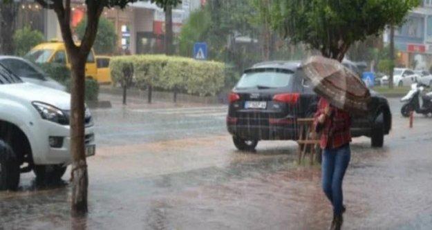 Meteoroloji saat verdi! Alanya ve çevresi için yağmur uyarısı